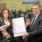 Анђелка Петровић спортиста града Ваљева за 2009.годину