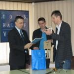 Градоначелник примио словеначке кошаркаше