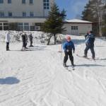 Млади ватерполисти на скијама