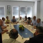 Министар Динкић обишао радове на изградњи нове фабрике Горење у Ваљеву