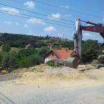 Санација клизишта у Улици Димитрија Туцовића