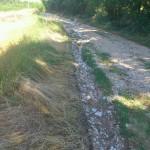 Отклањање последица невремена на путева у ваљевским селима