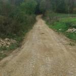Насипање пута у Буковици