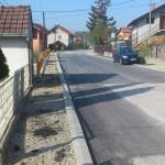 Асфалтиране улице у МЗ Брђани