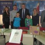 Пријем за представнике школе у Бранковини