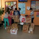 """Ученици ОШ """"Милован Глишић"""" помогли хуманитарну акцију Епархије ваљевске"""