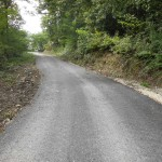 Асфалтиран пут на Ставама
