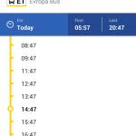 Апликација за јавни градски превоз у Ваљеву