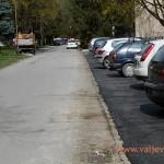 У градским насељима асфалтирана паркинг места