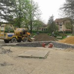 Реконструкција парка на Петом пуку