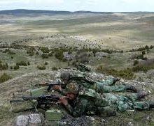 Пешадијско гађање у априлу