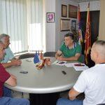 Равногорци и Четници на пријему код градоначелника
