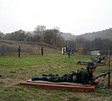 У новембру пешадијско гађање