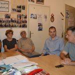 Градоначелник у разговору са борцима