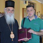 Пријем за градоначелника код Епископа Милутина