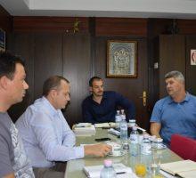 Директор Кланице Дивци на састанку код заменика градоначелника