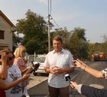 Асфалтирање Улице Стевана Филиповића у Горићу