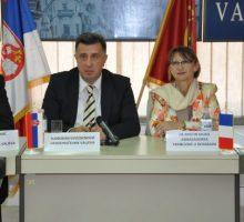 Француска амбасадорка и делегација Федерације старих ратника  у Ваљеву
