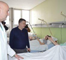 Град Ваљево опремио Одељење ортопедије новим душецима и постељином