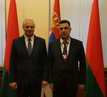 Приоритет ће бити успостављање економске сарадње  између Ваљева и Молодечно