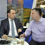 Министар Љајић и градоначелник Гвозденовић на штанду Ваљева на Сајму туризма у Београду