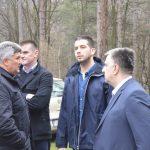 Министар Удовичић најавио почетак реконструкције кошаркашког терена на Пећини