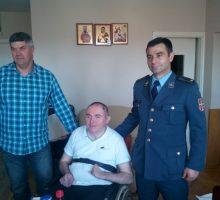 Заменик градоначелника посетио Жељка Мићића, ратног војног инвалида