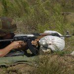 Пешадијско гађање на полигону у Седларима