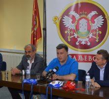 Пријем градоначелника за Ватерполо клуб Ваљево Горење