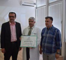 Дому здравља  уручен сертификат о акредитацији на седам година