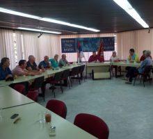 Заменик градоначелника са члановима филхармоније града Ситарда