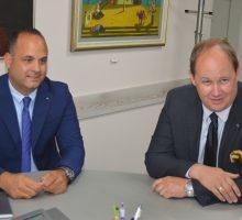 Амбасадор Естоније у посети Ваљеву