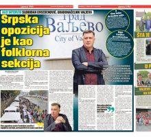 Упознај Србију градоначелник града Ваљева