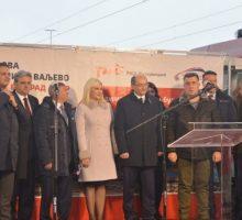 Модернизована пруга од Ресника до Ваљева