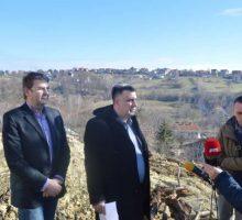 Почетак санације клизишта у Улици Иве Андрића