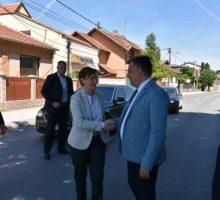 Председница Владе Ана Брнабић данас у Ваљеву