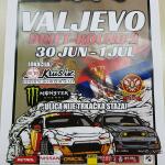 Дрифт трка по други пут у Ваљеву