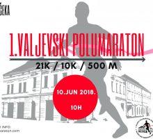 1. Ваљевски полумаратон 10. јуна