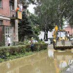Због јаке и краткотрајне кише излиле се реке Јабланица, Перајица, Кривошија и Рабас