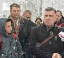 Асфалт и у засеоку Бошковићи у Причевићу