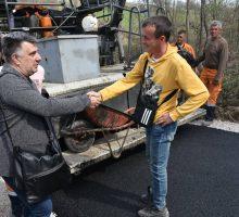 Нови асфалтни пут у Причевићу