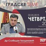 Градске теме са градоначелником Ваљева, вечерас на Студију Б