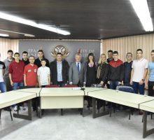 Пријем за ученике Техничке школе, освајаче такмичења