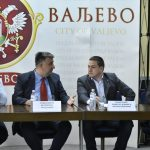 Министар Бранко Ружић у посети Ваљеву