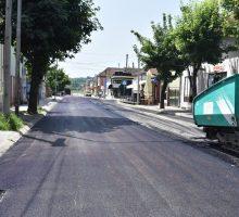У току асфалтирање Хајдук Вељкове улице