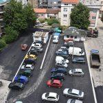 Асфалтирање паркинга у центру града