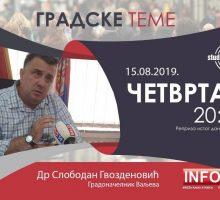 Ексклузивни интервју градоначелника Ваљева др Слободана Гвозденовића