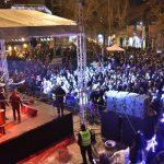 Дочек Нове године на Градском тргу