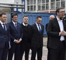 Председник Вучић у посети Крушику