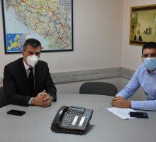 Министар Ђорђевић у посети Ваљеву